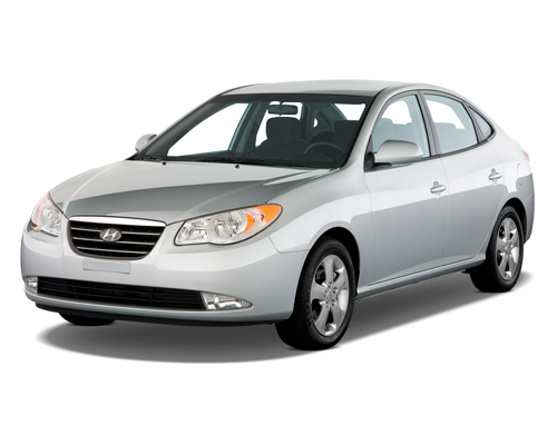 Прокат авто в Симферополе Аэропорт. Прокат машин Симферополь: Hyundai Elantra 2009 г.в.