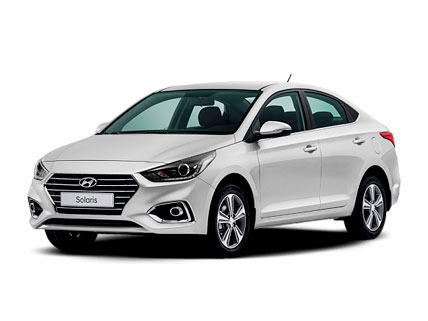 Прокат авто в Симферополе Аэропорт. Прокат машин Симферополь: Hyundai Solaris 2018 г.в.